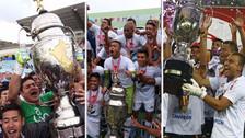 'Fútbol macho': los últimos campeones de la Copa Perú