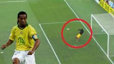 YouTube | Arquero brasileño imitó el 'escorpión' ante disparo de Ronaldinho