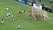 Video | El gol de Lucas Paquetá que puso en ventaja al Flamengo