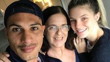 Paolo Guerrero recibió el apoyo de la mamá de Thaísa Leal