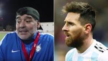 YouTube | Maradona imitó a Messi y critica su falta de liderazgo