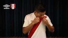 El mensaje de Edison Flores tras conocer la nueva camiseta del Perú
