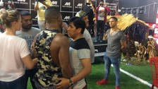 Jonathan Maicelo y David Zegarra protagonizaron una pelea en tienda deportiva