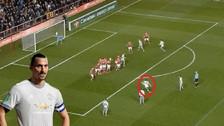 Ibrahimovic anotó un golazo pero no pudo evitar la derrota del United