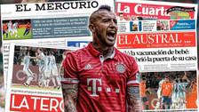 Arturo Vidal envió un duro mensaje a la prensa chilena