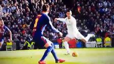 Cristiano Ronaldo cometió un blooper en la derrota ante Barcelona