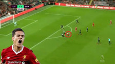 Philippe Coutinho anotó un golazo al ángulo desde fuera del área