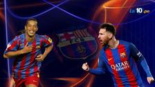 Messi y Ronaldinho: el 11 histórico de Barcelona elegido por los hinchas