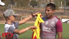 El gran gesto de Raúl Ruidíaz con un hincha que lucha contra enfermedad