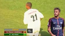YouTube | Así jugaba Neymar en los juveniles del Santos cuando tenía 15 años
