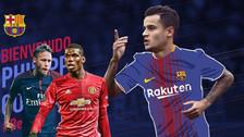 Coutinho a Barcelona: los 10 fichajes más caros en la historia del fútbol