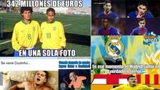 Barcelona está en la mira de los memes tras el fichaje de Coutinho
