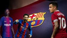 Así sería el nuevo once de Barcelona con el fichaje de Coutinho
