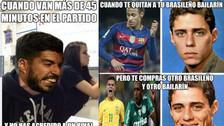 Barcelona ganó a Levante, pero no se salvó de los memes