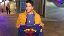 Un peruano compró la primera camiseta de Barcelona con el nombre de Coutinho