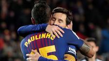 Así fue el primer golazo de Lionel Messi con Barcelona en el 2018