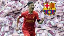 Por jugadas como estas, Barcelona fichó a Coutinho por 160 millones de euros