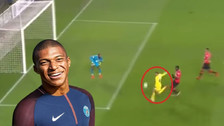 YouTube   La excelente definición de Kylian Mbappé en la goleada del PSG
