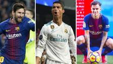 Nadie puede con Cristiano: las cláusulas de rescisión más caras del fútbol mundial