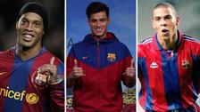 Las estrellas brasileñas que jugaron en Barcelona