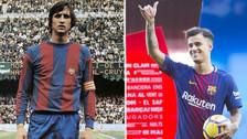 Los últimos jugadores del Barcelona que lucieron el dorsal '14'