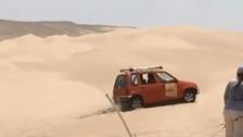 Solo pasa en Perú: Tico sorprende en las dunas en pleno Rally Dakar
