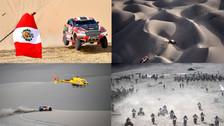 Las mejores imágenes de las dunas peruanas en el Dakar 2018