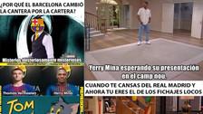 Barcelona en la mira de los memes tras el fichaje de Yerry Mina
