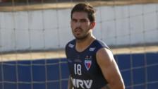 El golazo de tiro libre de Germán Pacheco en el entrenamiento de Fortaleza
