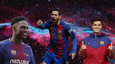 Once de lujo: ¿cómo formaría Barcelona con sus refuerzos Coutinho y Mina?