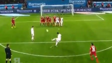 YouTube | Golazo de tiro libre de James Rodriguez en el triunfo de Bayern
