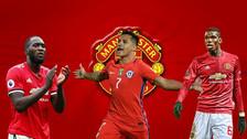 Un equipo de temer: así formaría Manchester United con Alexis Sánchez