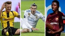 Los 9 futbolistas con más lesiones en los últimos años