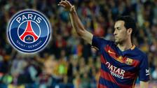 El dueño de PSG pagaría 200 millones de euros por Sergio Busquets