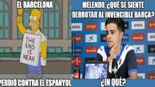 Barcelona es víctima de memes tras perder contra Espanyol