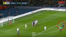 YouTube | Golazo de tiro libre de Neymar al ángulo en el PSG-Dijon