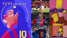 Los 20 memes de Ronaldinho tras anunciar su retiro del fútbol