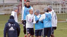 James Rodríguez casi se pelea con compañero en práctica del Bayern Munich