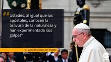 Las 8 frases que dejó el papa Francisco en su homilia en Huanchaco
