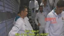 Cristiano Ronaldo bromeó con niños y les dijo que Messi es malo