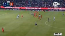 La gran asistencia de Irven Ávila para el gol de Lobos BUAP en la Liga MX