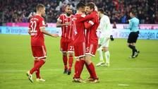 La gran asistencia de James Rodríguez para el golazo de Thomas Müller