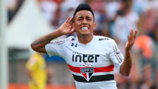 Christian Cueva escribió mensaje por su ausencia en Sao Paulo pero lo borró