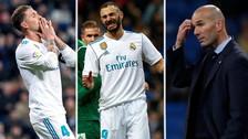 Así quedaron los jugadores del Real Madrid tras quedar fuera de la Copa del Rey