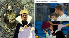 Cristiano Ronaldo es víctima de los memes por la escena con el celular