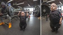 Actor de 80 centímetros hizo entrenamiento de un jugador de la NFL