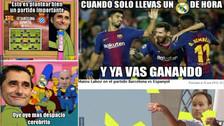 Barcelona ganó a Espanyol, pero no se salvó de los memes