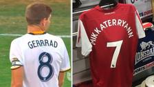 Los futbolistas que tuvieron camisetas con sus nombres mal escritos