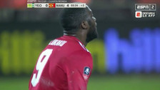 La sutil definición de Lukaku en el triunfo de Manchester United