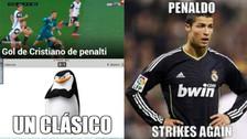 Cristiano Ronaldo protagonizó los memes por el triunfo de Real Madrid ante Valencia